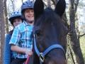 Riding Double Bareback